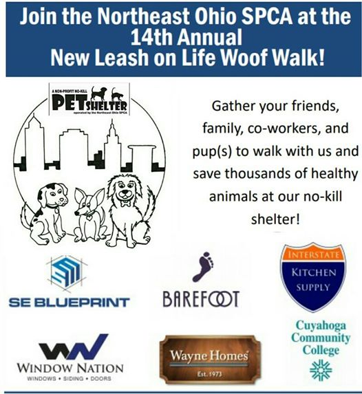 2018 dog walk at edgewater park and pups to walk and raise funds to find homes for thousands of animals visit httpnortheastohiospca to register and download forms to malvernweather Images